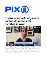 04-17-2020_Pix11_Bronx Non Profit Organizes Computer Donations