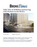 06_01_2021_BronxTimes_LISC_NYC_WHEDco_Partnering_with_Peloton_in_the_Bronx