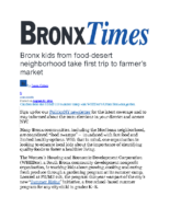 08_30_2021_ BronxTimes_Bronx_kids_from_food_desert_neighborhood_take_first_trip_to_farmer's_market