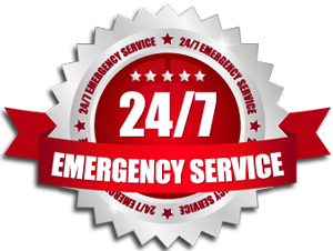 24/7 Emergency Service badge