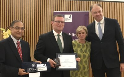 Oxford University Outstanding Alumnus award