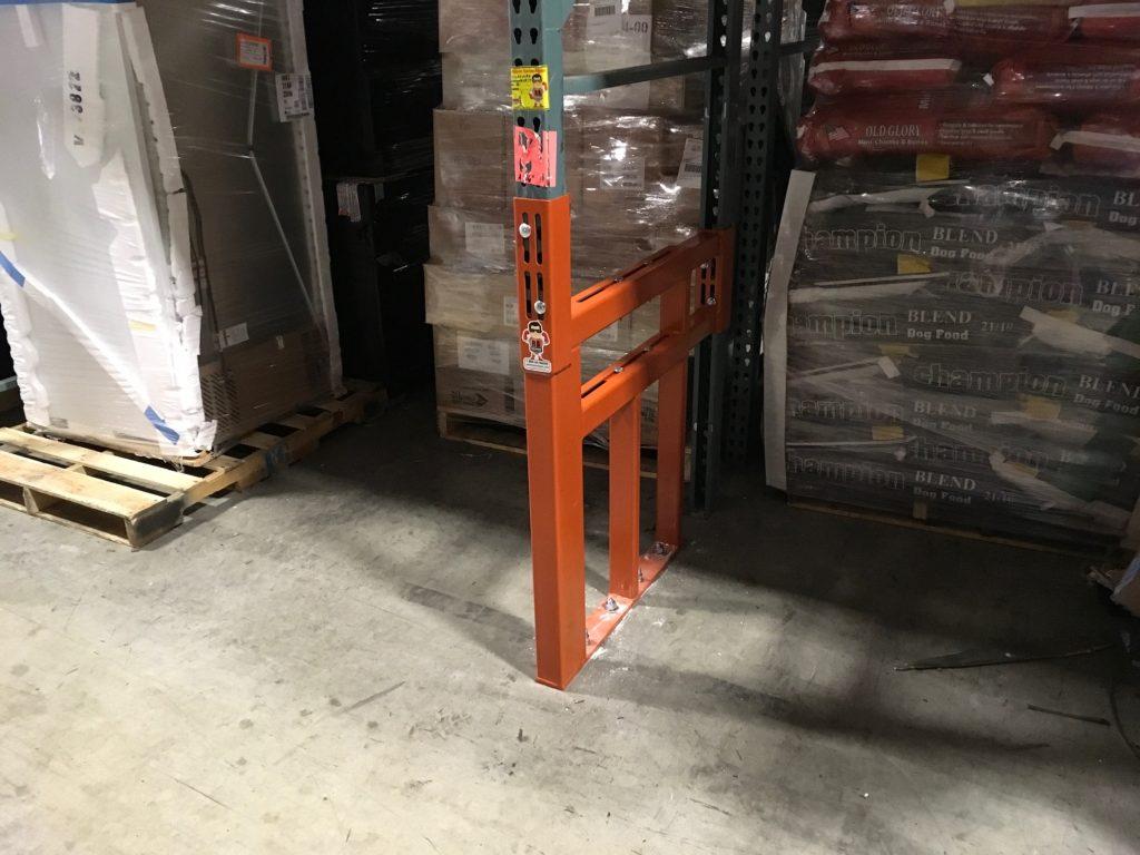 Custom Fully Adjustable Pallet Rack Repair Kit