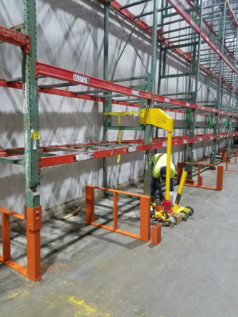 Installation Warehouse Pallet Rack Repair Kits