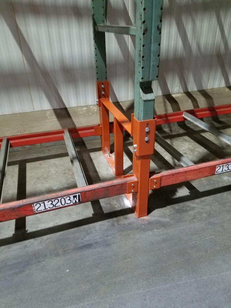 Pallet Rack Repair Kit with Hook Over