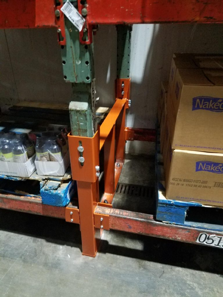 Warehouse Pallet Rack Repair Kit with Hook Over
