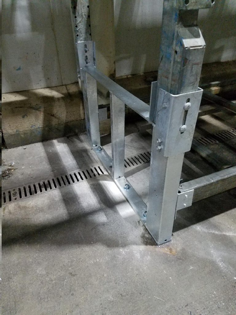 Galvanized Pallet Rack Repair Kit