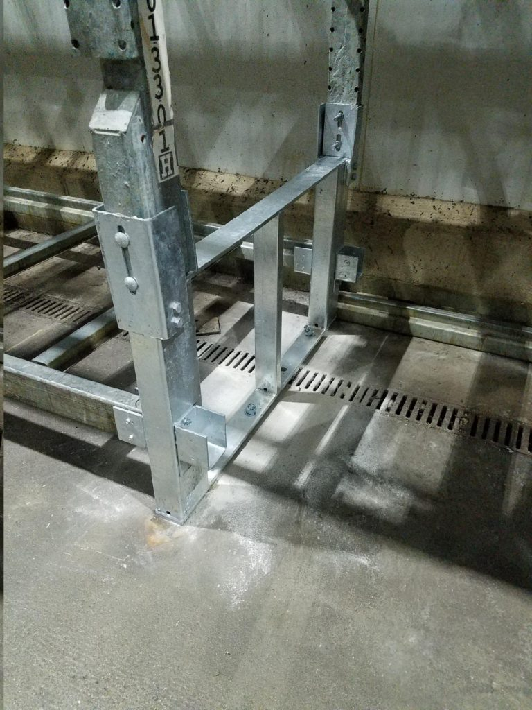 Galvanized Warehouse Pallet Rack Repair Kit