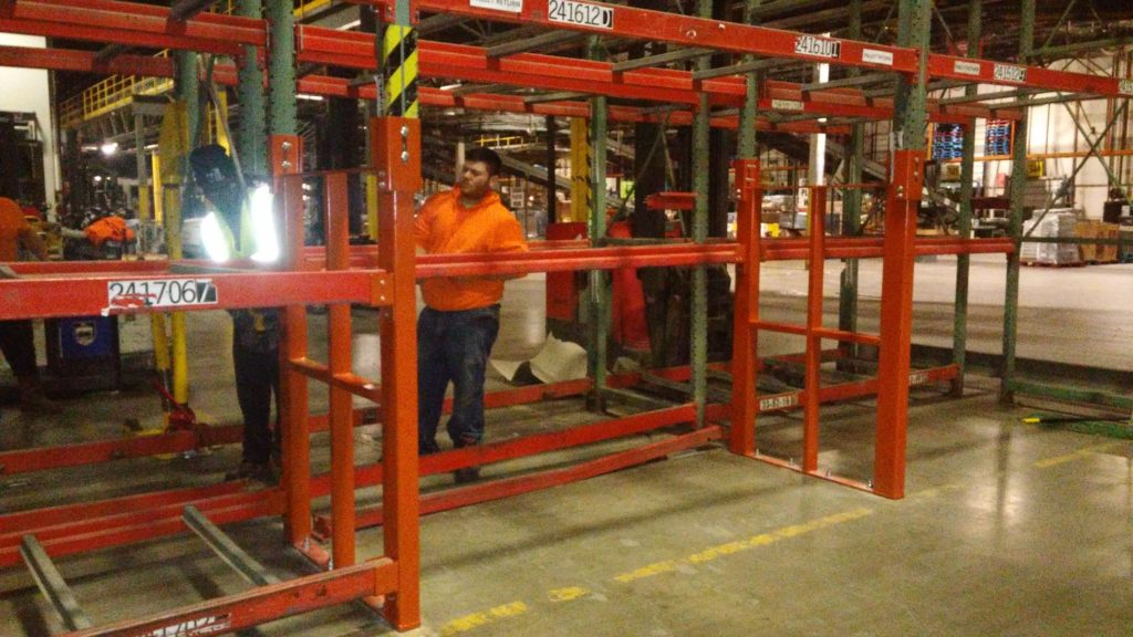 Custom Warehouse Pallet Rack Repair Kit