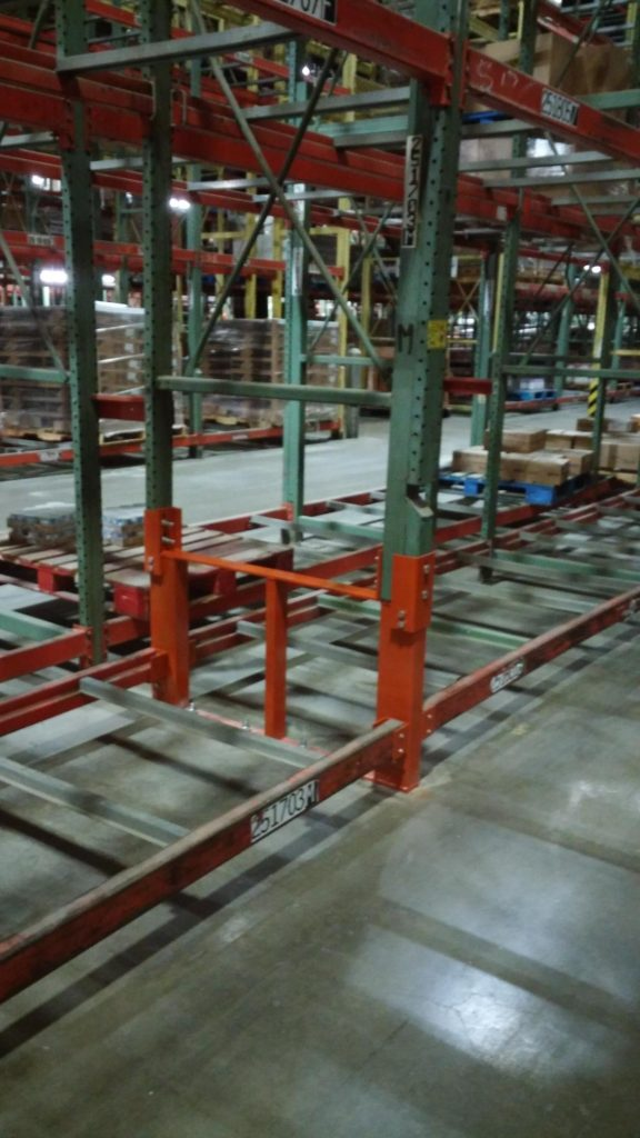 Warehouse Pallet Rack Repair Kit