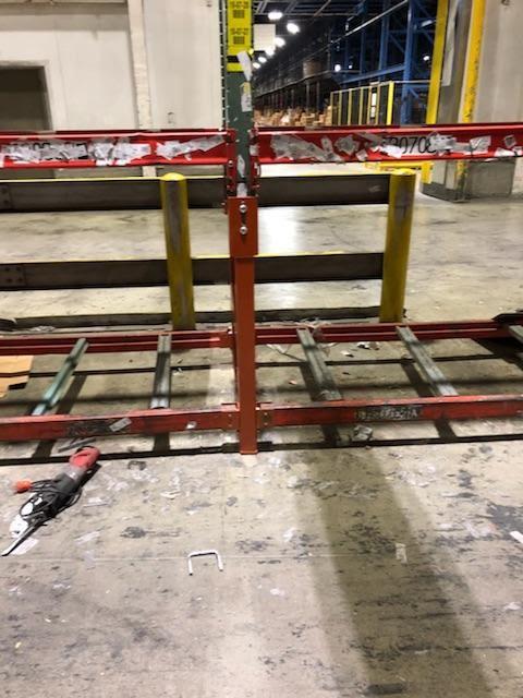 Installation Warehouse Pallet Rack Repair Kits