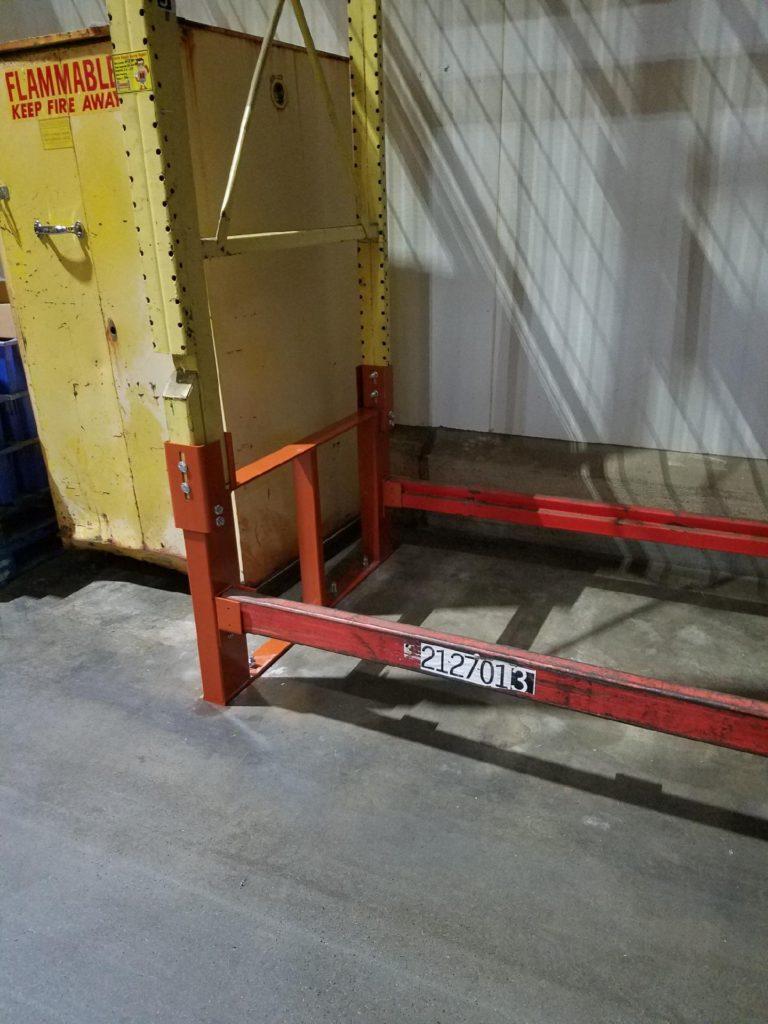 Pallet Rack Repair Kit with Hook Over