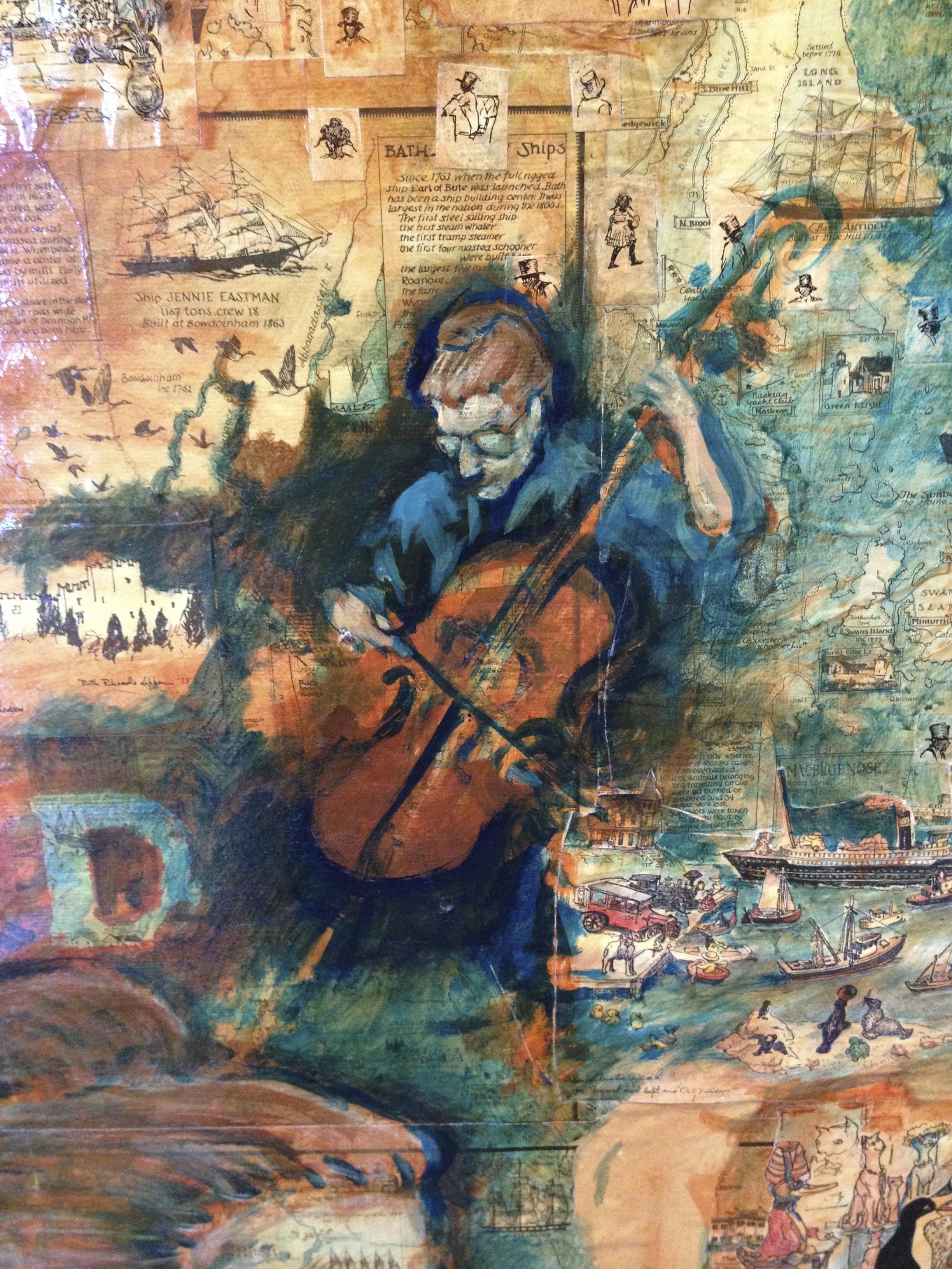 Artwork by  George Workman