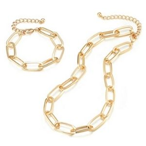 Chain Necklace Duo