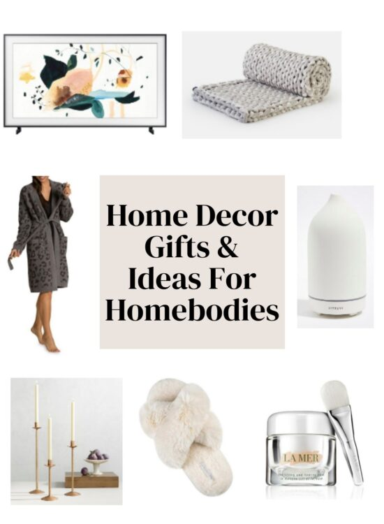 HOME DECOR gifts & ideas for homebodies