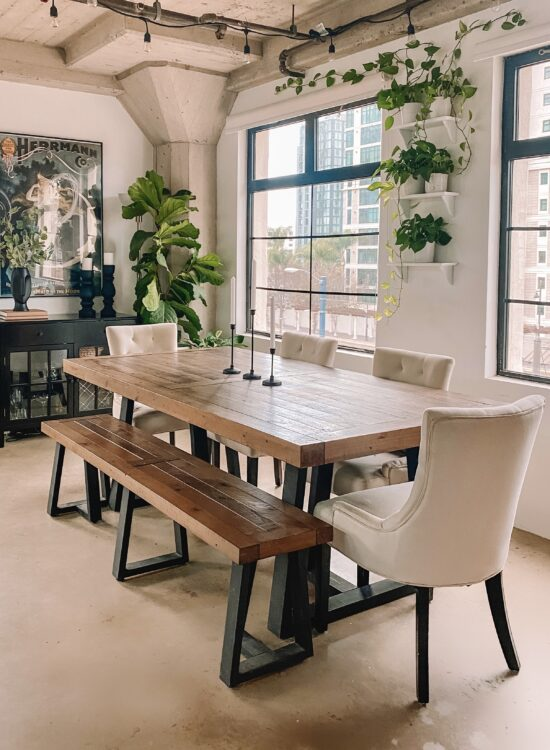 Liz Lovery dining table