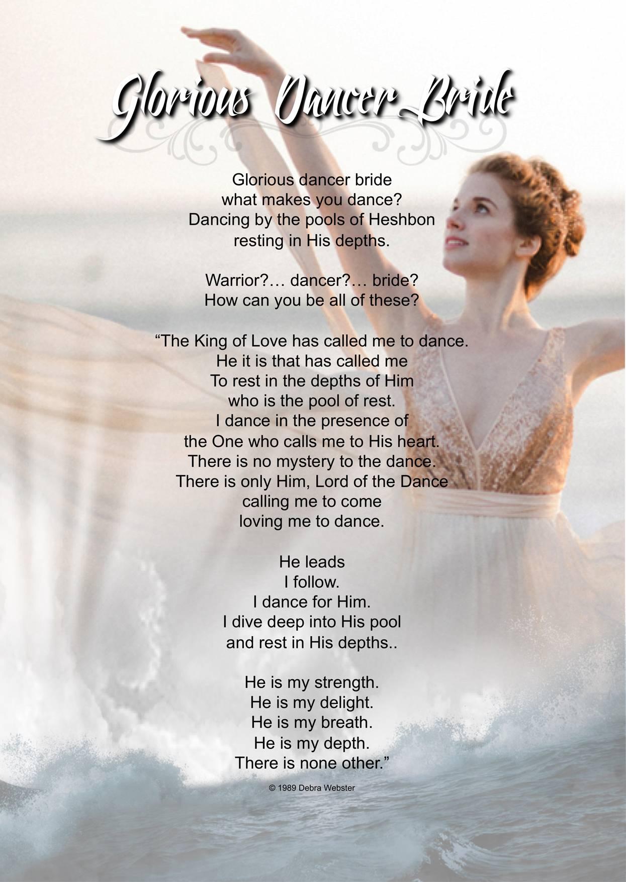 Glorious Dancer Bride | Debra Webster