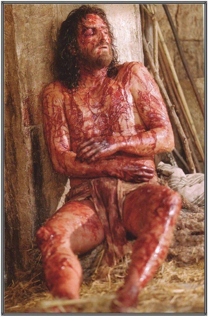 Consider Him - Christ after flogging.