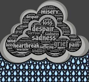 Cloud of sadness and despair/Forgiveness and Hearing God's Voice
