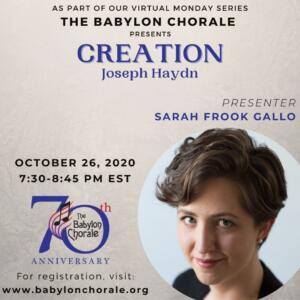 """Haydn """"Creation"""""""
