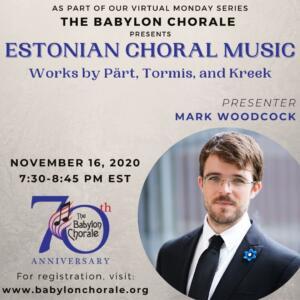 Estonian Choral Music