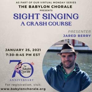 Sight Singing: A Crash Course