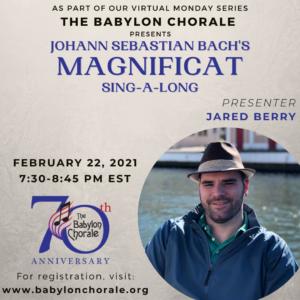 "Bach ""Magnificat"": Sing-a-long"