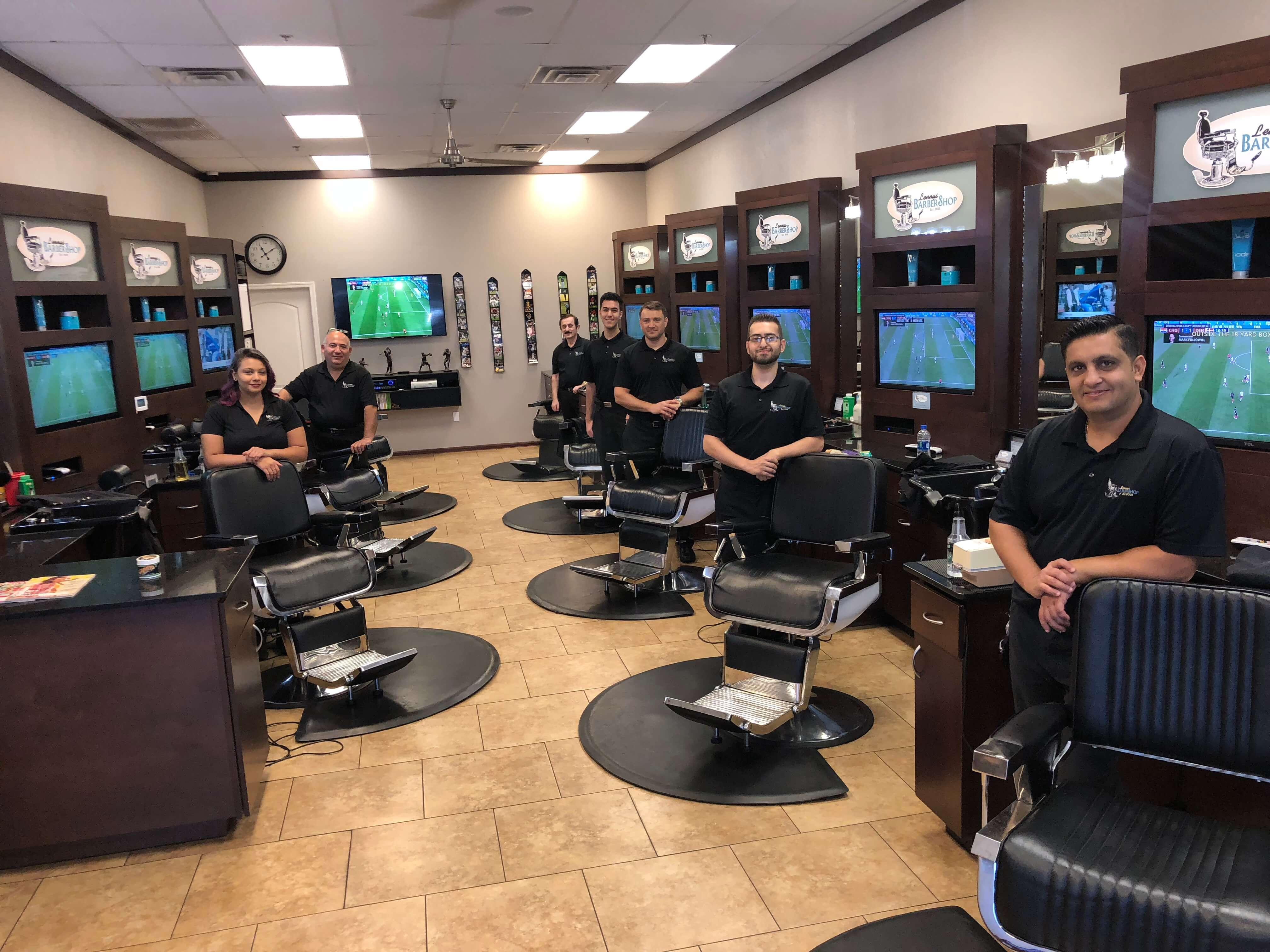 Lenny's Barber Shop