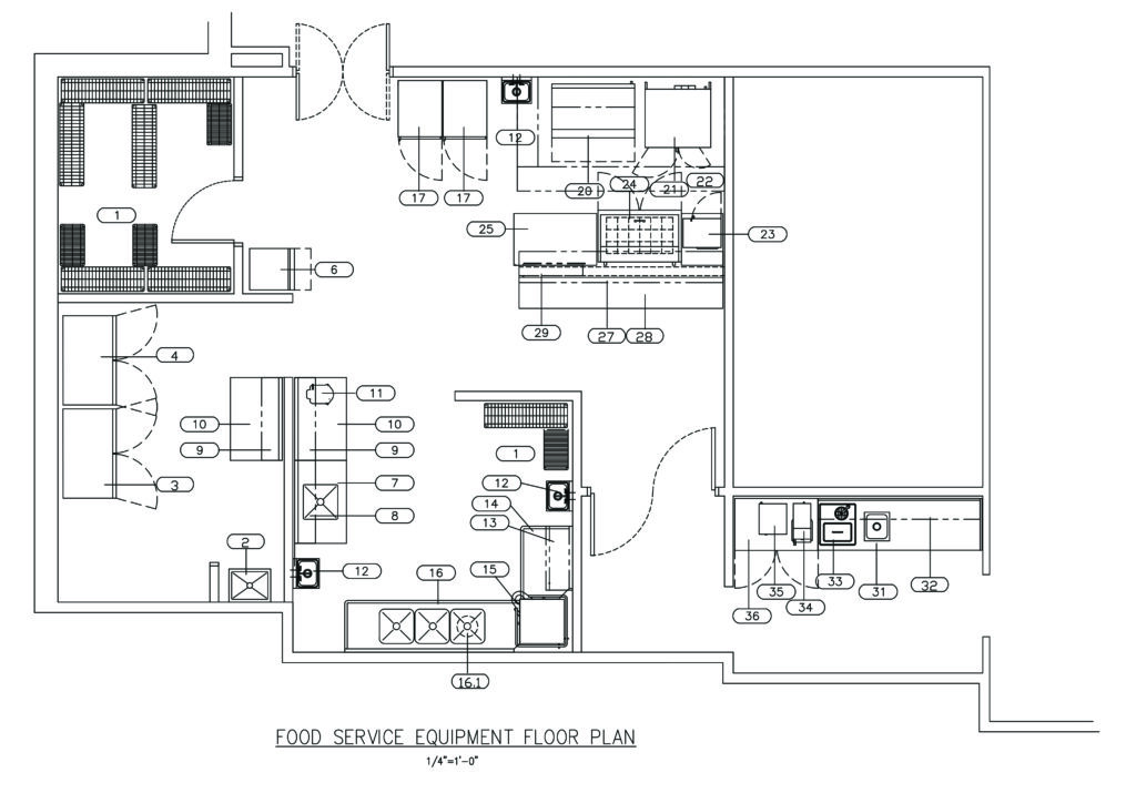 Sample Kitchen Drawing