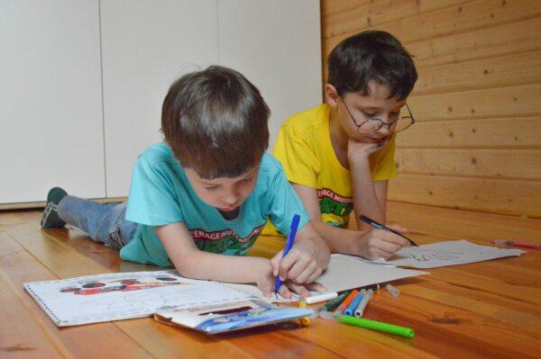 coloring, draw, felt tip pens