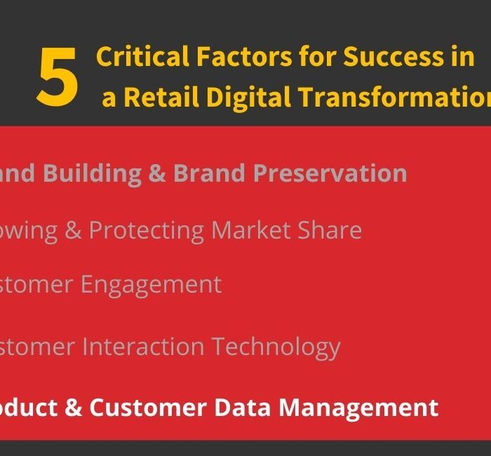 Product and Customer Data Management
