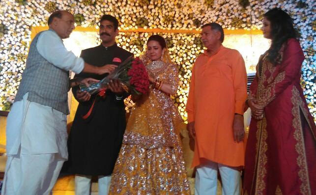 सांसद धर्मबीर सिंह के बेटे के विवाह उत्सव पर दिखाई पड़े देश भर की सियासत के चेहेरे