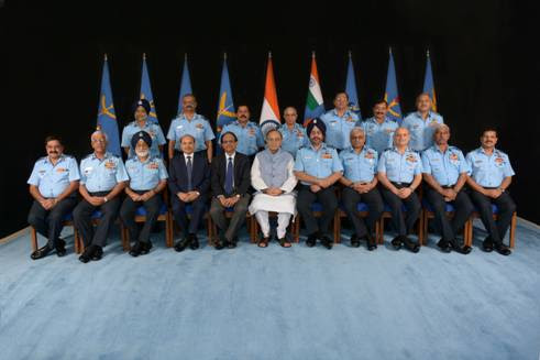 RM'S interaction with IAF Commanders during Air Force Commanders' Conference