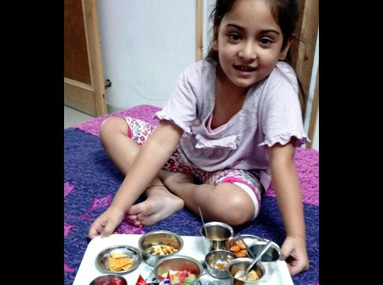 Memoirs of my granddaughter - 'Naanu, now you too are cleaned