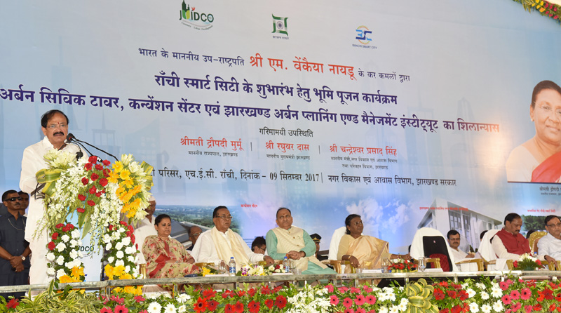 Every city in the country should become a Smart City: Vice President
