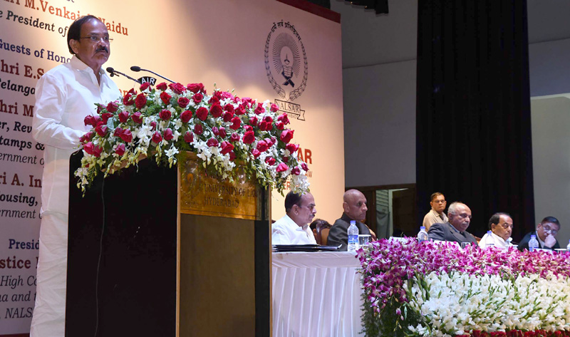 India is keen to suppress international terrorism: Vice President  Inaugurates the 78th Session of International Institute of Law