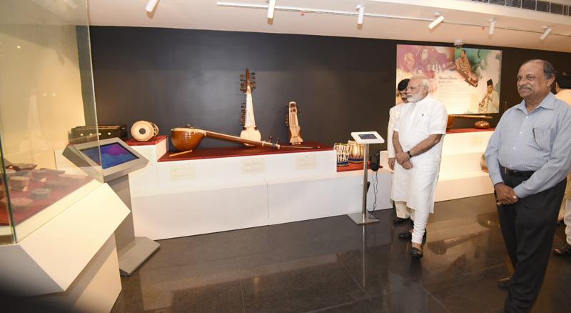 Prime Minister dedicates Deendayal Hastkala Sankul to the Nation