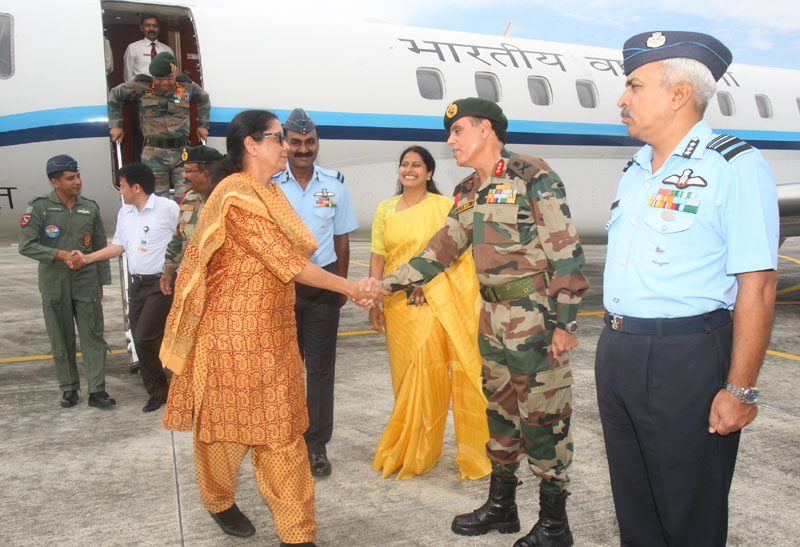 Defence Minister Reviews Operational Preparedness in The Northeast