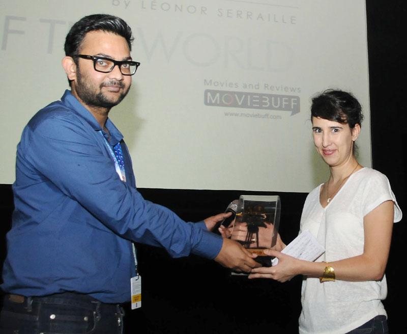Producer, Sandra De Fonsec of the film MONTPARNASSE BIENVENUE, at the presentation, during the 48th International Film Festival of India