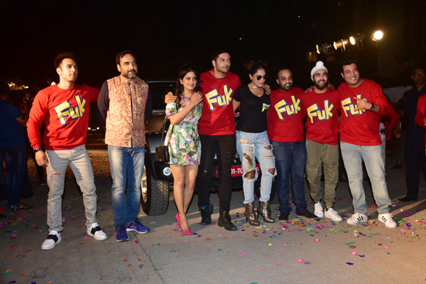 'Fukrey Returns' song launch event was a celebration in Fukra style
