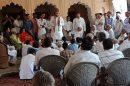 फासिस्टवादी ताकतों को रोकने के लिए राव अजीतसिंह ने कांग्रेस पार्टी में आस्था जताई