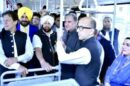 SO WHAT DID CAPT AMARINDER TALK TO IMRAN ABOUT DURING THE BUS RIDE TO KARTARPUR SAHIB?