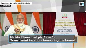 "Prime Minister Narendra Modi launches platform for ""Transparent Taxation - Honouring the Honest"""