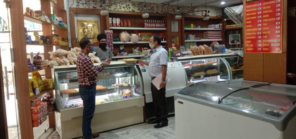 Food Wing startes checking Sweet Shops and Milk Dairies.