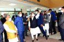 BJP National President J. P. Nadda and CM Jai Ram Thakur reviews construction work of AIIMS