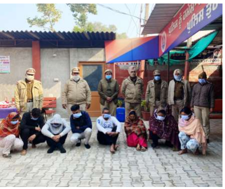 Phagwara police arrest Eight assailants for obstructing public servant in discharge of duty