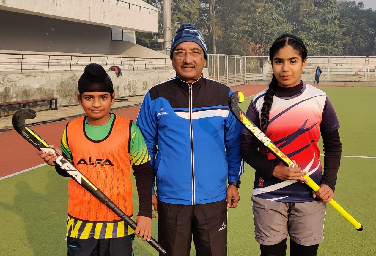 91st day of Surjit Hockey Coaching Camp