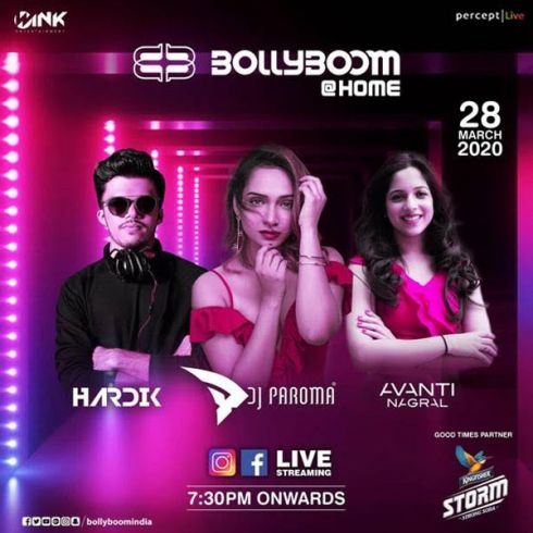Percept Live unveils 'Bollyboom at Home' to encourage Social Distancing rules