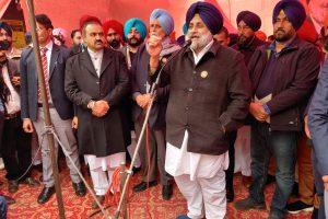 Sukhbir Badal condemns summoning of Khalsa Aid by NIA