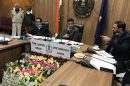 Eight file nomination for municipal elections on first day : Ghanshyam Thori