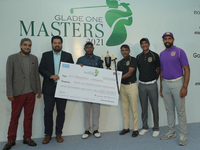 Om Prakash scores four-shot victory at Glade One Masters